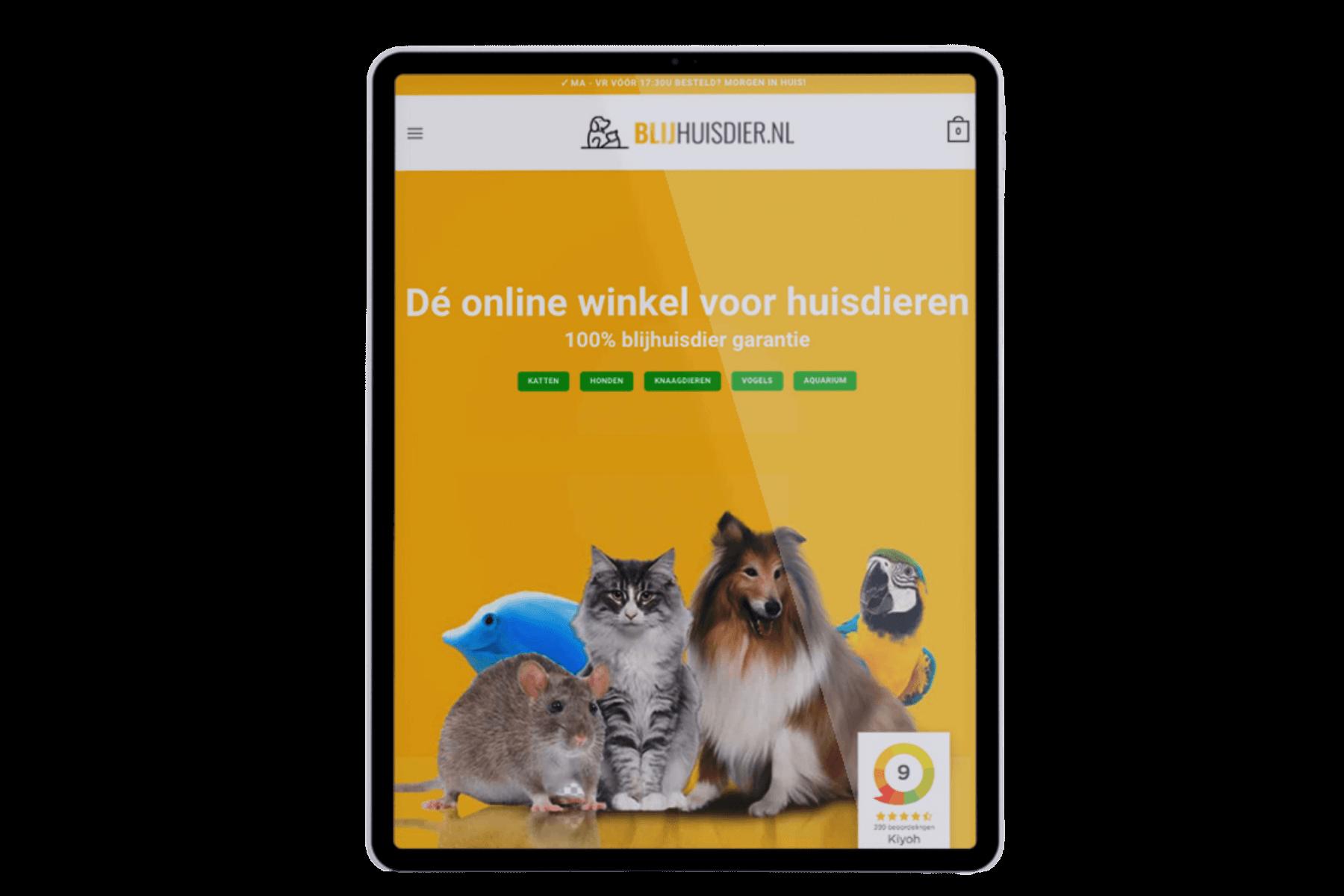 Blijhuisdier homepage