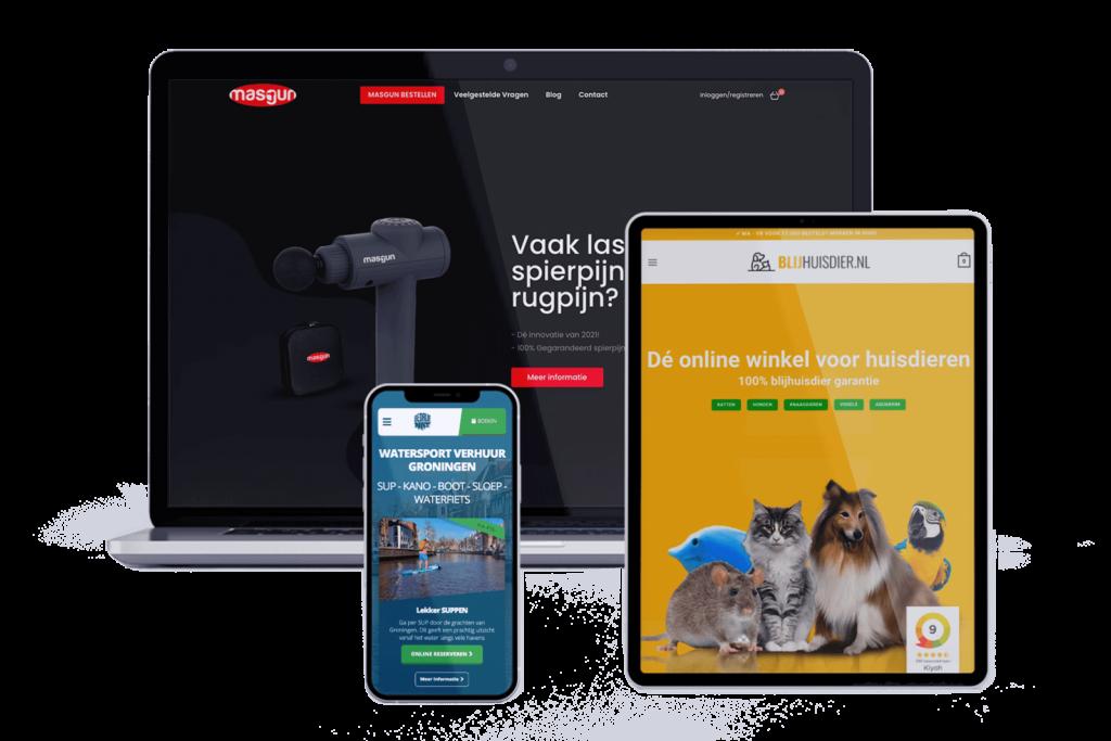 Mockup opdrachtgevers Conversieonline.nl